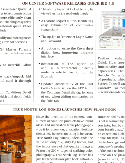 True North Log Homes launches new plan book