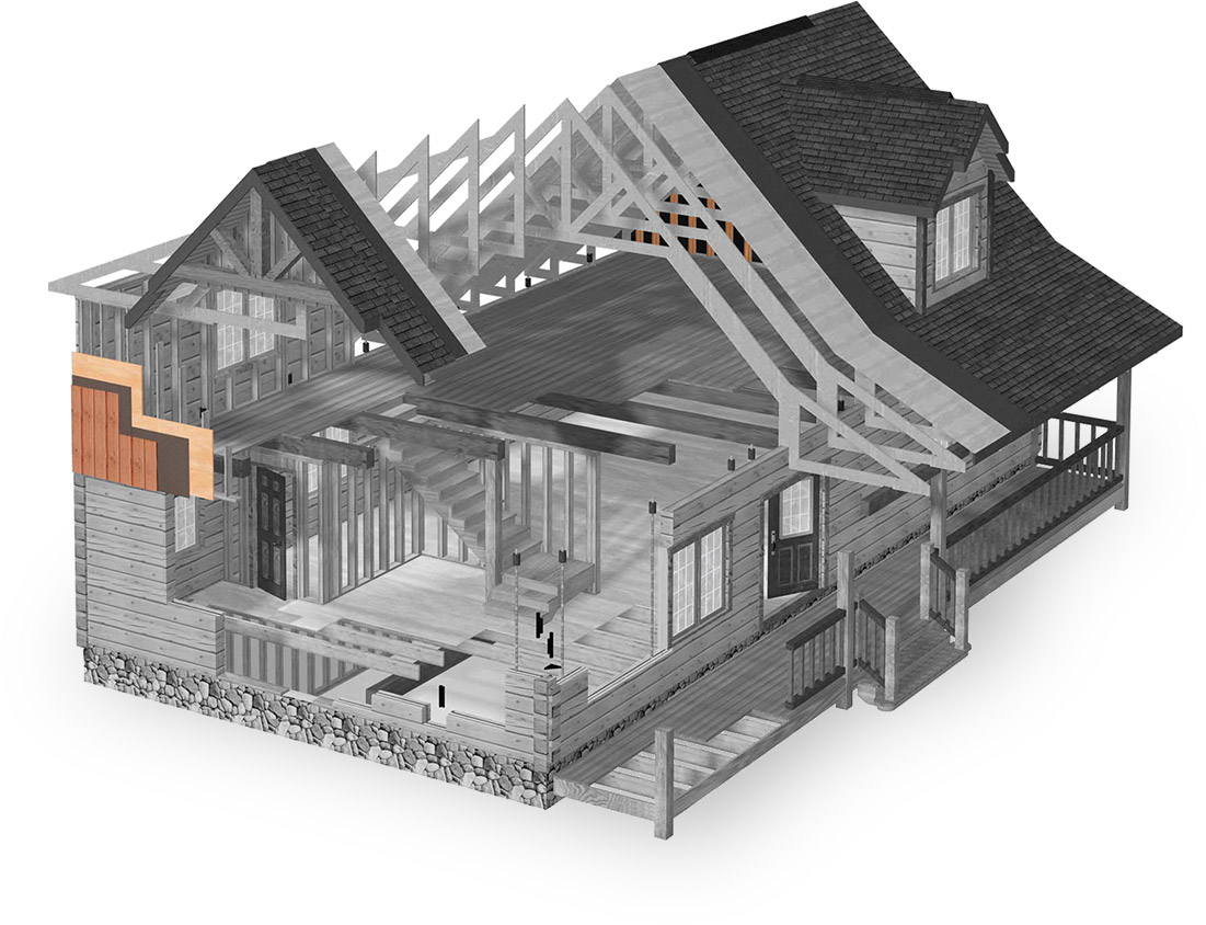 gable end framing system