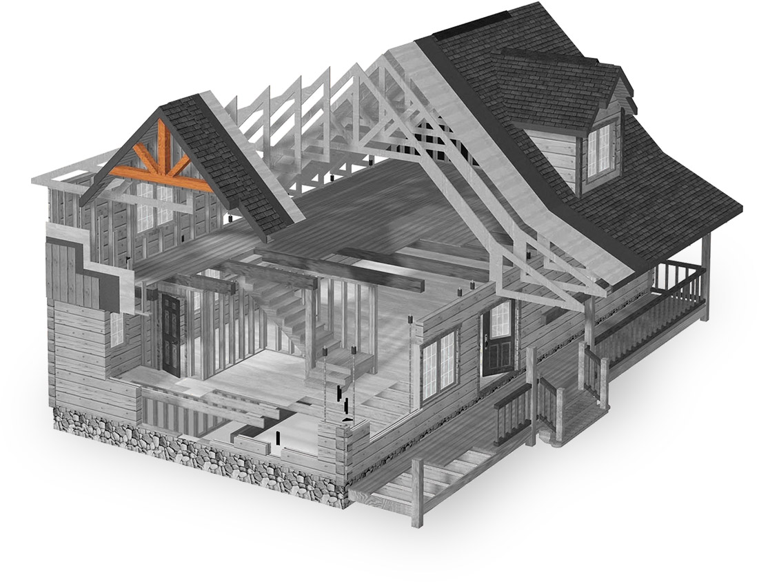 heavy timber truss options