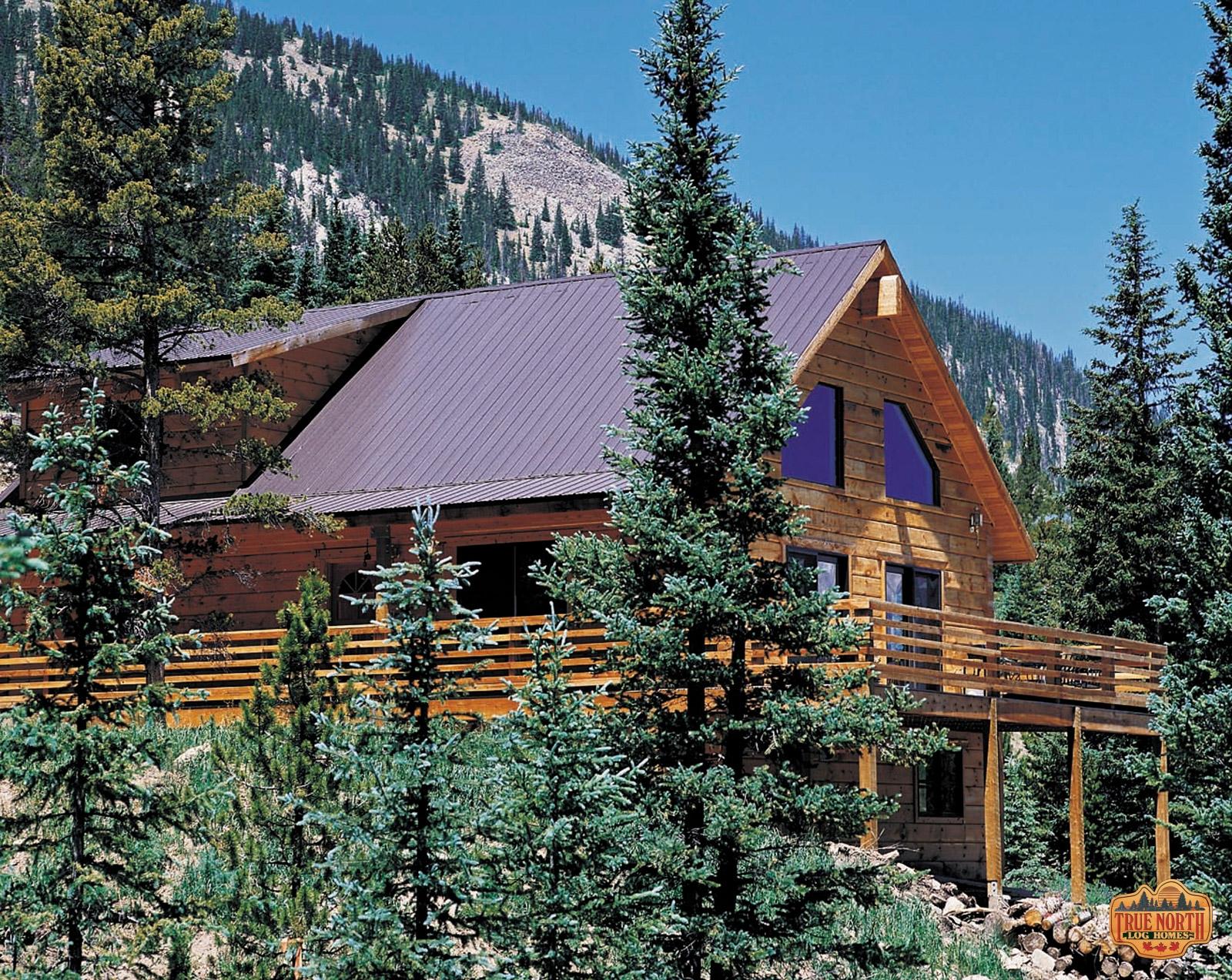 Aspen I True North Log Homes