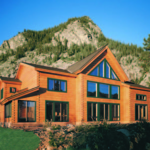 The Breckenridge True North Log Homes