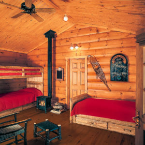 Inside - Killarney III - True North Log Homes - Cabin - Inside - Bunkie