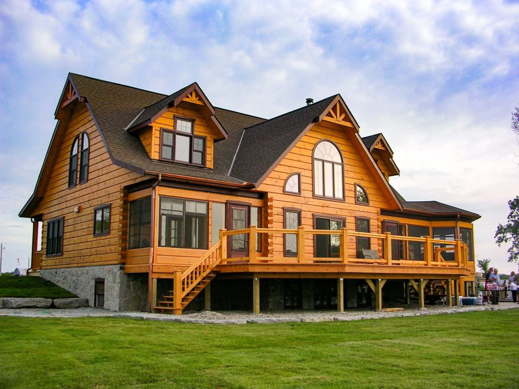 Cogo Residence True North Log Homes