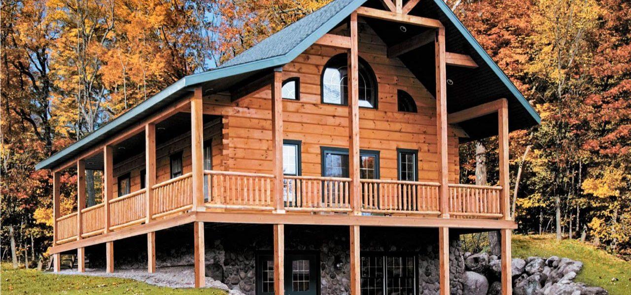 Killarney II - True North Log Homes