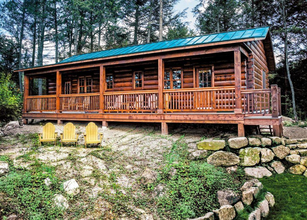 Front - Killarney III - True North Log Homes - Cabin