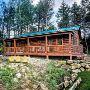 Front Killarney III - True North Log Homes - Cabin - Front
