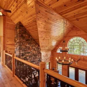 Citadel X True North Log Homes Loft