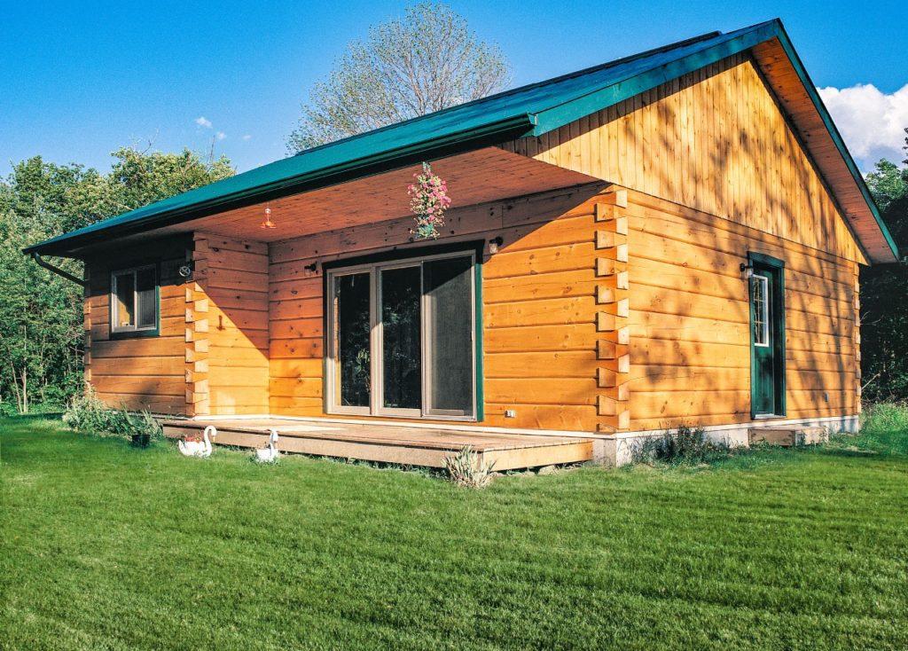 Front - Pictou Hunt Camp - True North Log Homes - Cabin