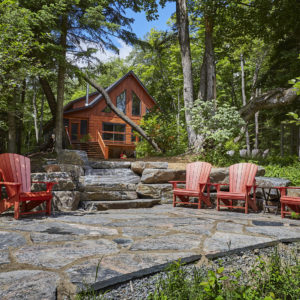 River Deck - Aspen VIII - True North Log Homes