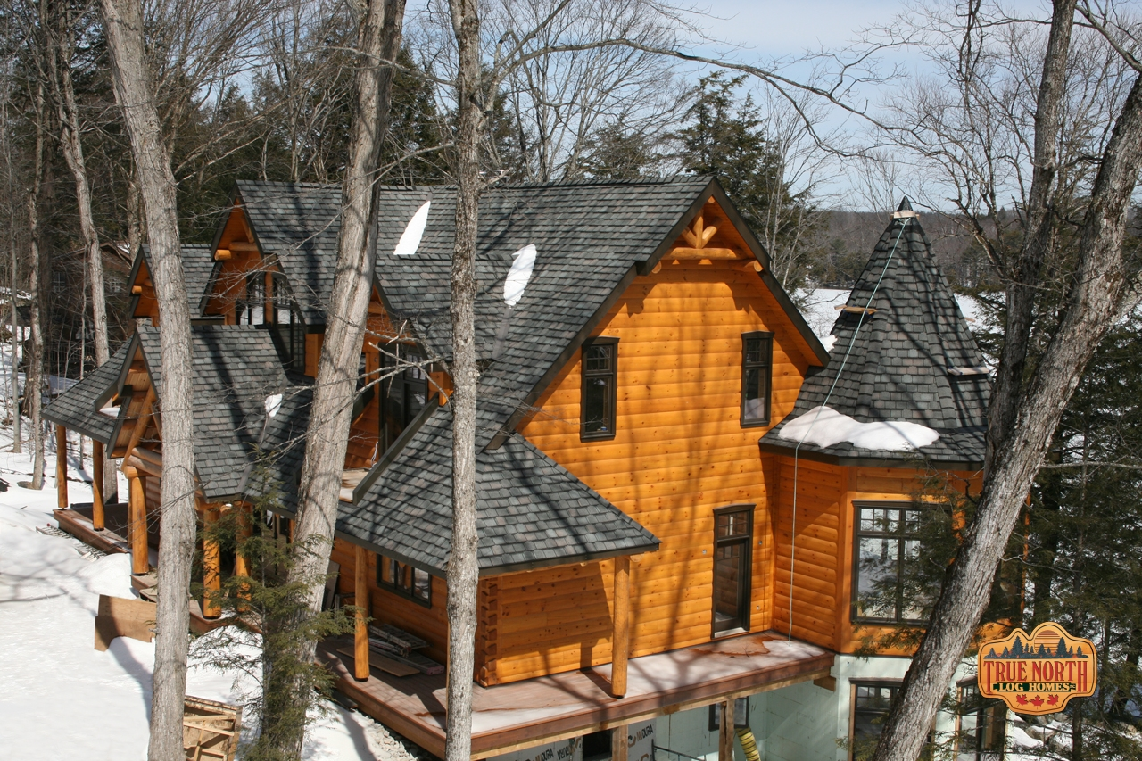 With Stainlock® Technology True North Log Homes