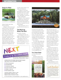 True North Log Homes new Plan Book
