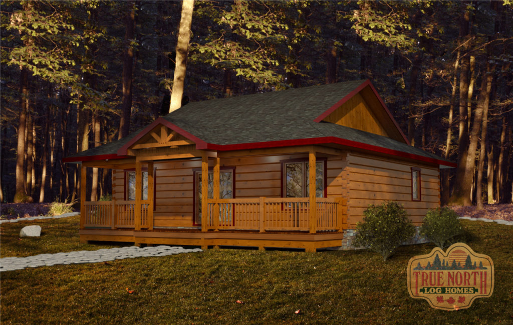 Glenwood - Cabin Series by True North Log Homes