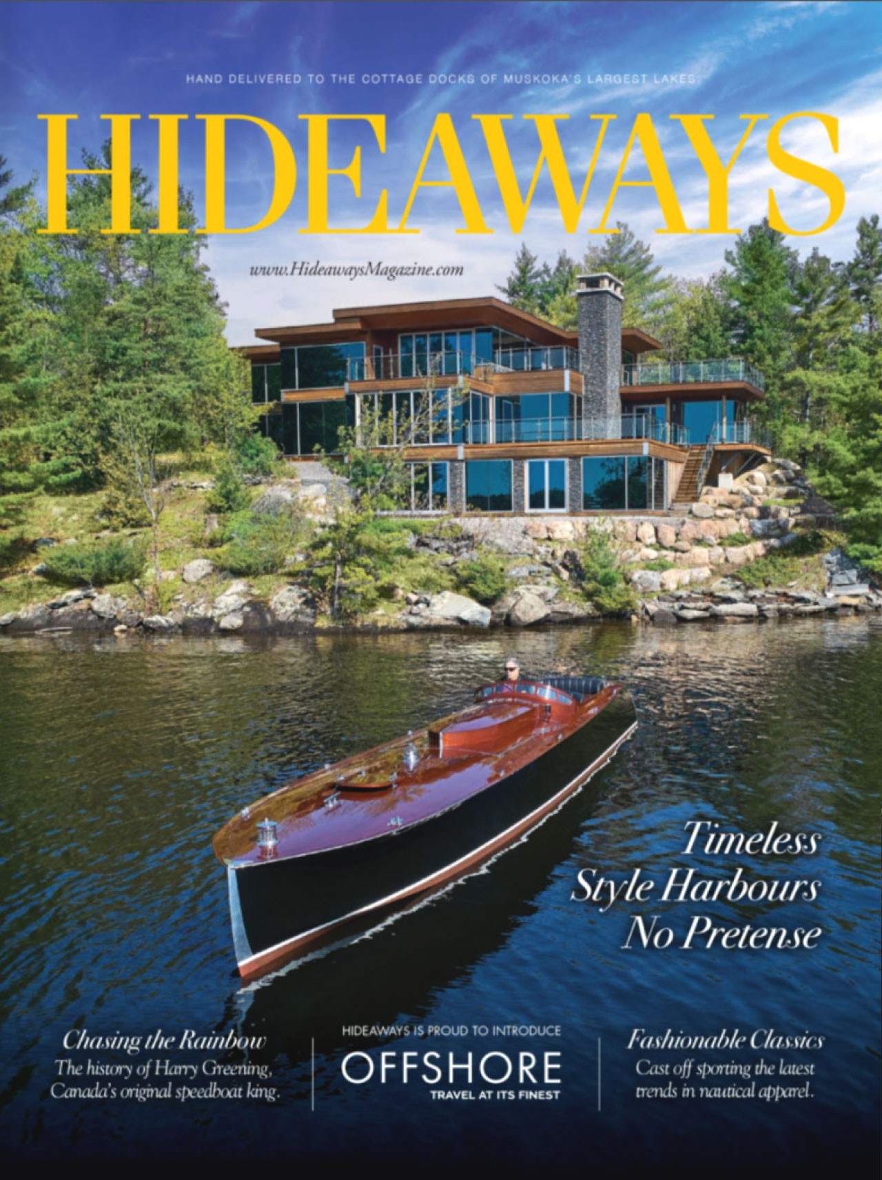 Hideaways 2018 Issue Cover