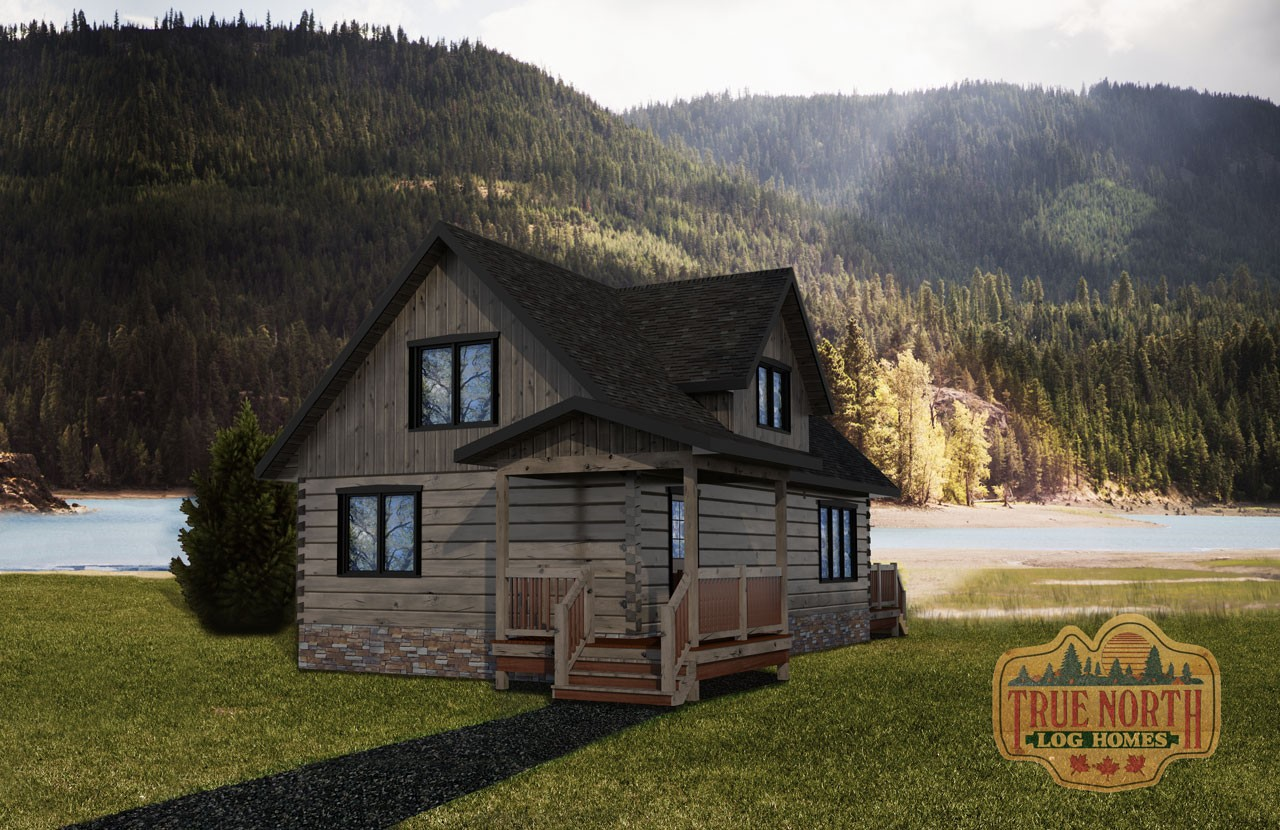 Peninsula - Cabin Series by True North Log Homes