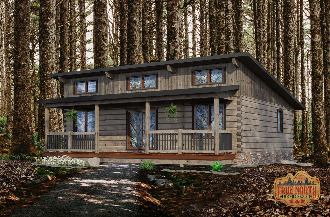 Ashburn - Cabin Series by True North Log Homes