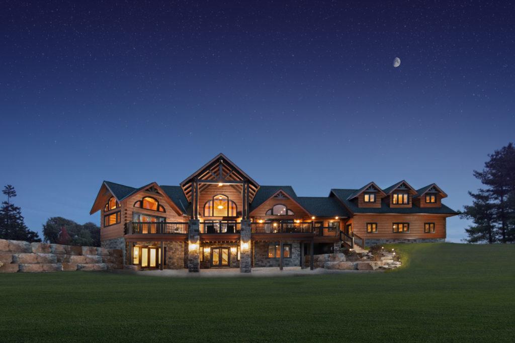 Ramseyer Residence - True North Log Homes - Custom Home