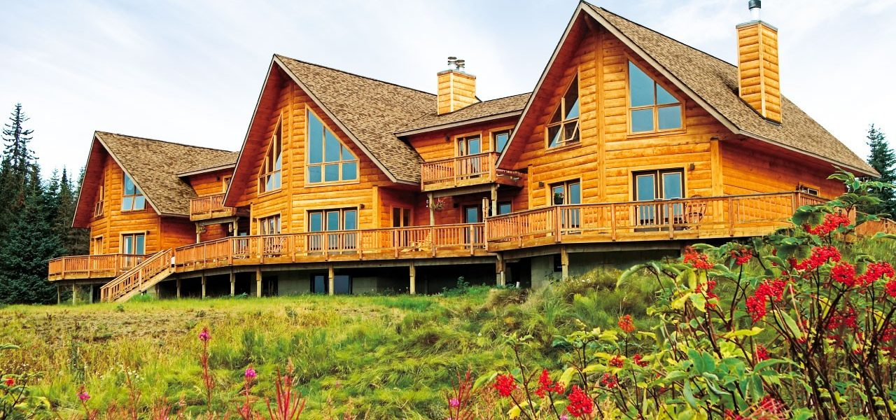 Alaska log home - Cabins and Commercial