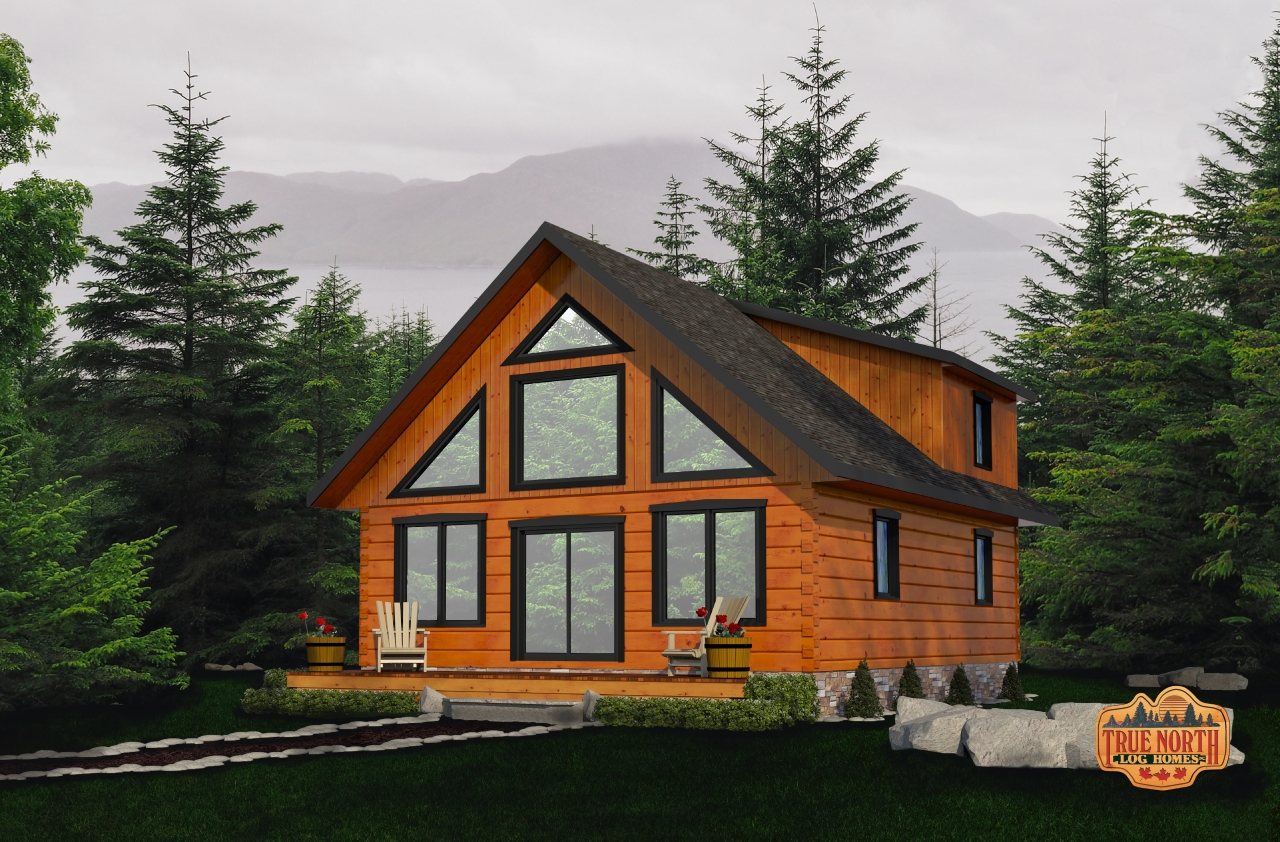 Arrowhead - Cabin Series by True North Log Homes