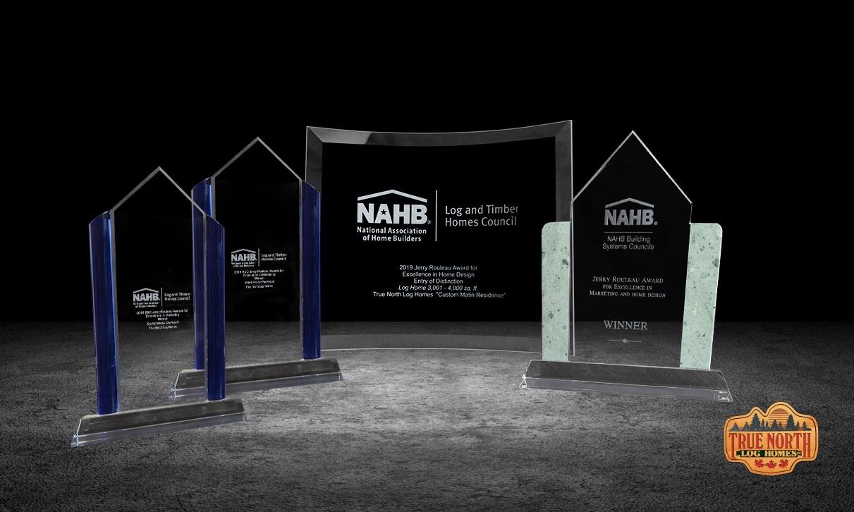 2019 NAHB Awards won by True North Log Homes