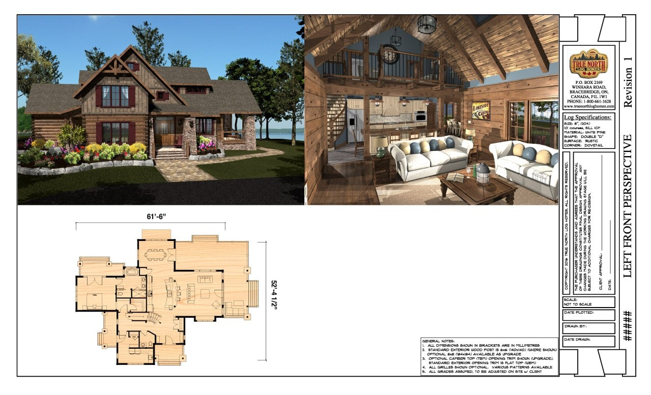 Northern Escape Design Drawings